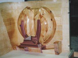バケットホイールの木型