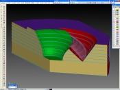 CAD、CAMにより2D、3D作成